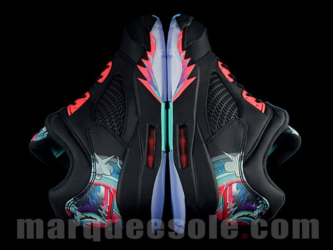 Chinese New Year Air Jordan 5 Low Retro