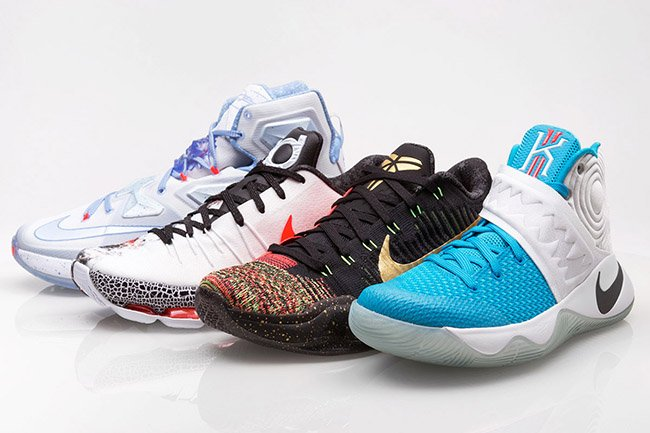 Christmas Nike Basketball 2015 Release