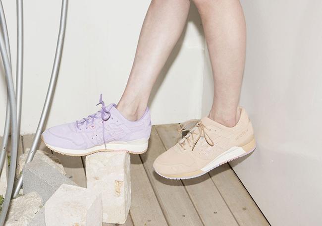 CLOT Asics Gel Lyte III Lavender Sand