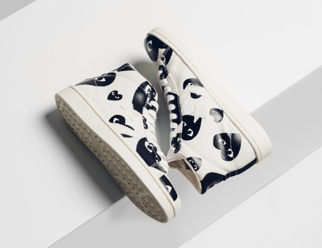 Converse Comme Des Garcons PLAY Pro Leather Collection