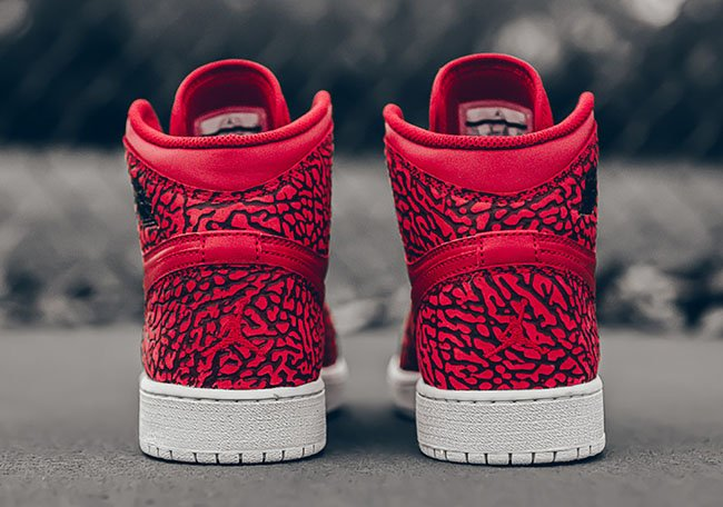 Elephant Red Air Jordan 1 High