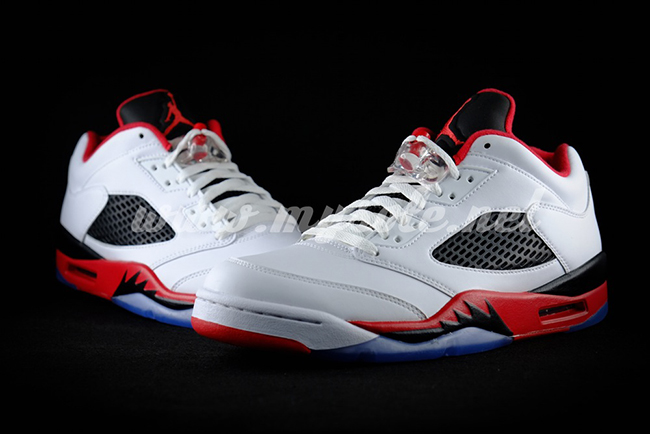 Fire Red Jordan 5 Low 2016