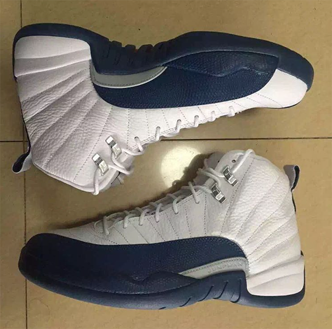 French Blue Jordan 12 2016