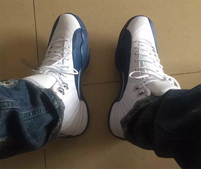 French Blue Jordan 12 2016