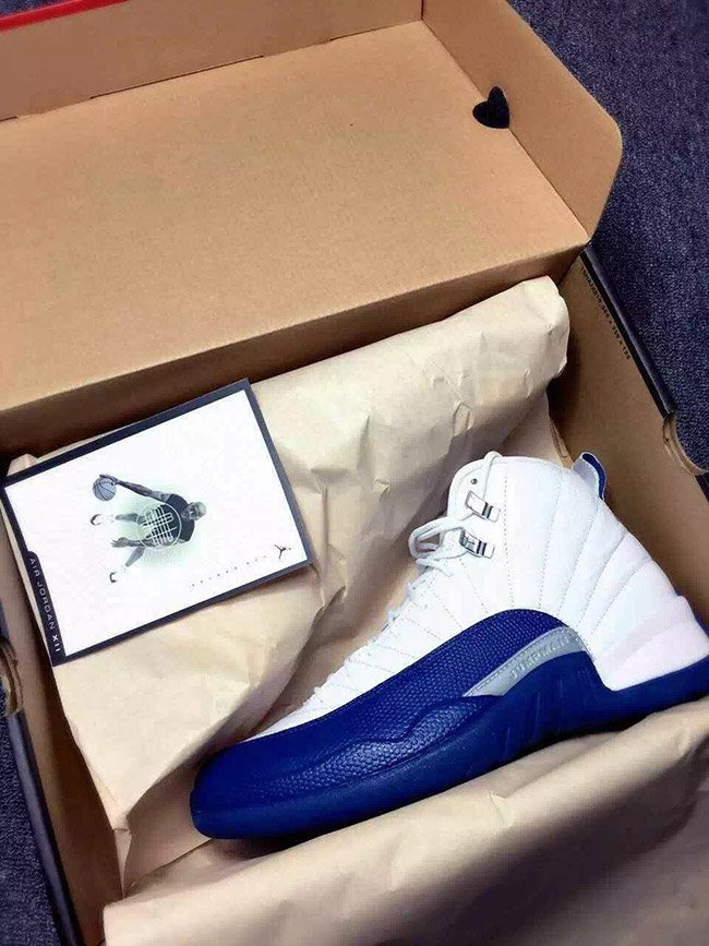 61a61d9760b96c Air Jordan 12 French Blue 2016