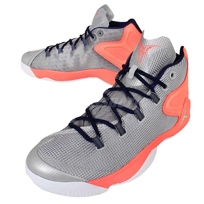 53d216ae135b Jordan Melo M12 Grey Silver Orange