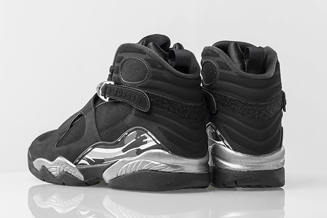 Jordan 8 Retro Black Chrome 2015
