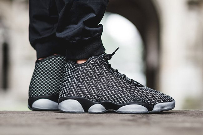 Jordan Horizon Black White On Feet