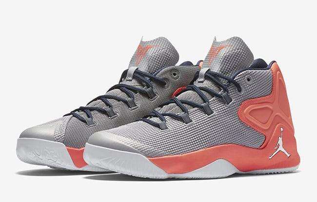 Jordan Melo M12 Grey Silver Orange