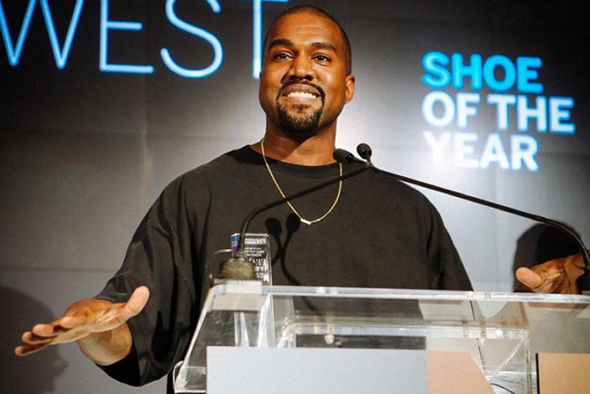 Kanye West Yeezy Boost Shoe of the Year