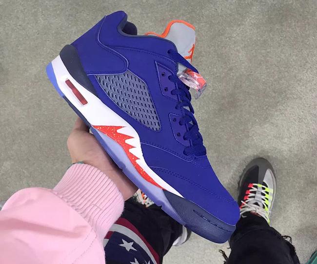 Knicks Air Jordan 5 Low