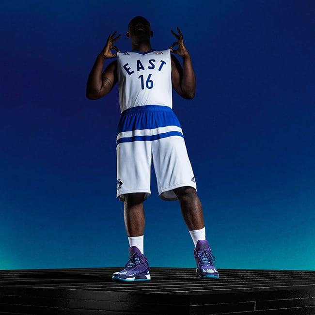 NBA 2016 All Star Jerseys Uniforms Toronto