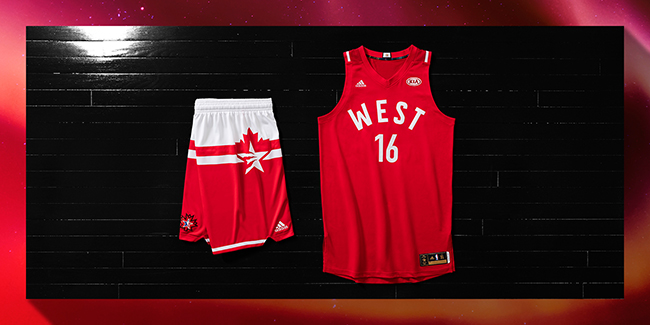 NBA 2016 All Star Jerseys Uniforms Toronto