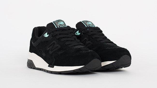 New Balance 1600 Elite Black Turquoise