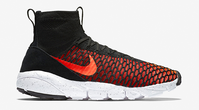 Nike Air Footscape Magista Bright Crimson Black