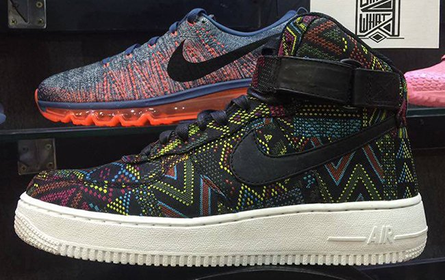 Nike Air Force 1 High BHM 2016
