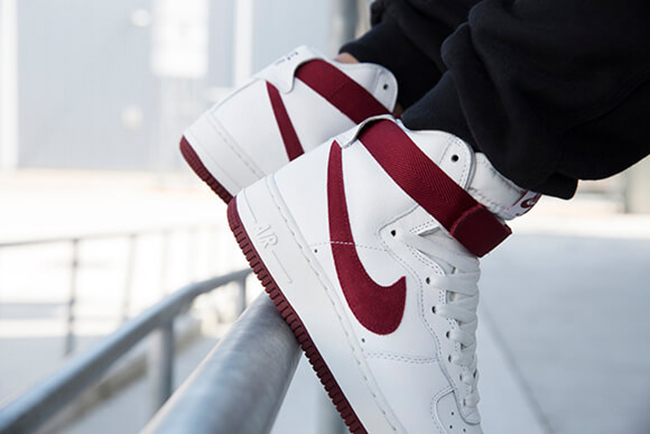Nike Air Force 1 High OG White Red