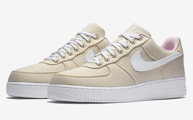 nike air force beige basse
