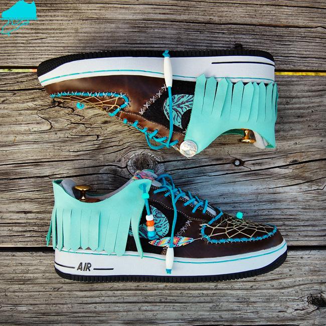 Nike Air Force 1 Low Rain Maker Custom