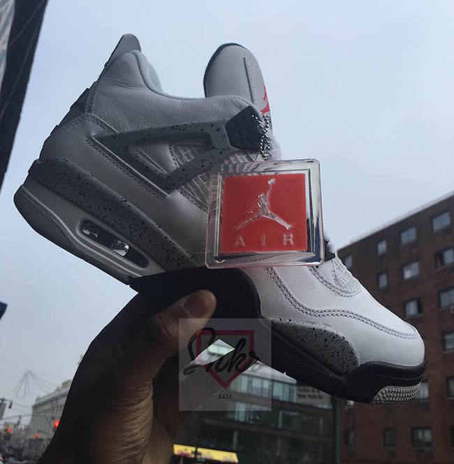 Nike Air Jordan 4 White Cement Release Date