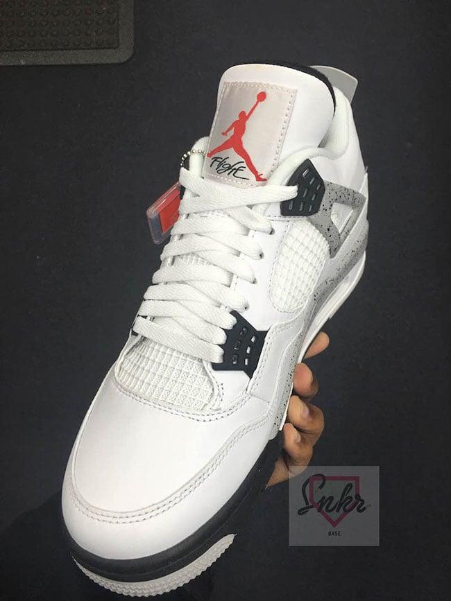 9693d079d759e1 Air Jordan 4 Retro 89 Nike Air White Cement 2016