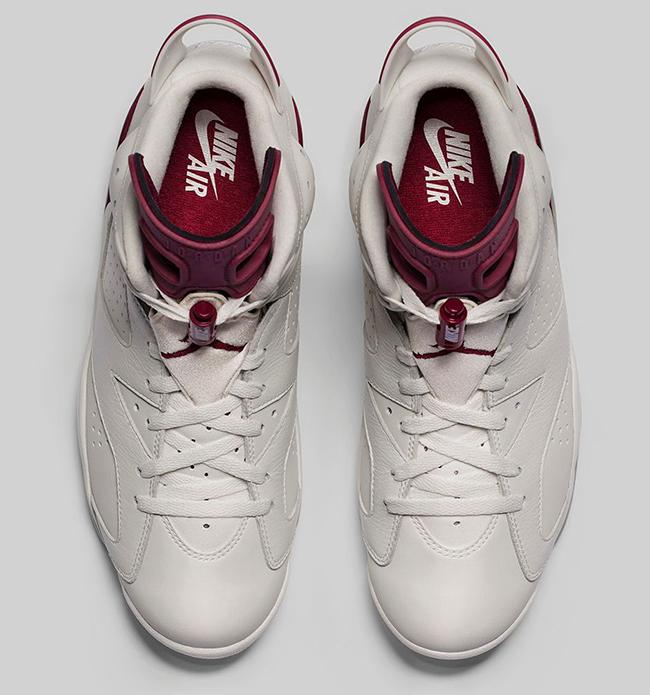 Nike Air Jordan 6 Maroon Release Info