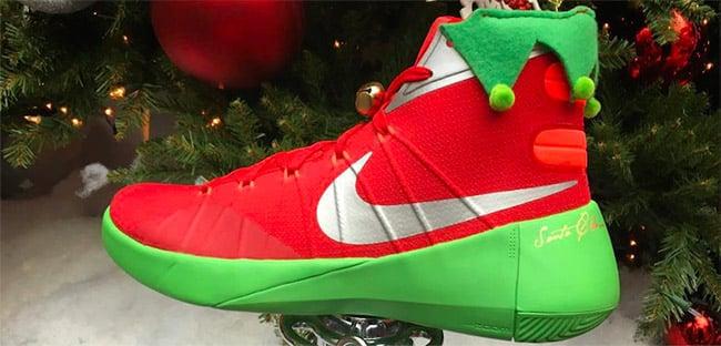 Nike Air Kringle Santa Sneakers