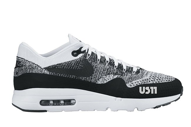 Nike Air Max 1 Ultra Flyknit White Black