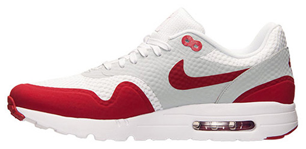 red and grey air max