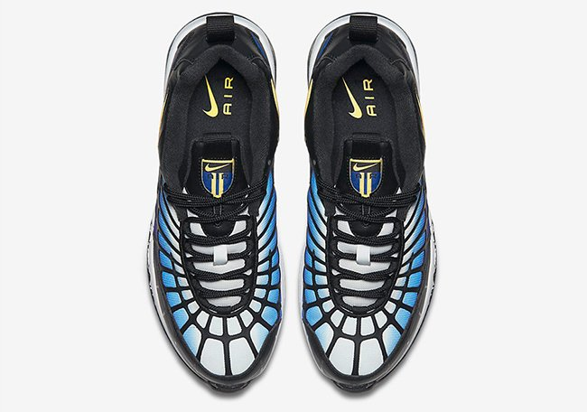 Nike Air Max 120 OG Blue Yellow