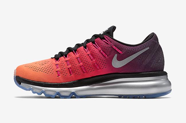 Nike Air Max 2016 Pink Orange Black Silver