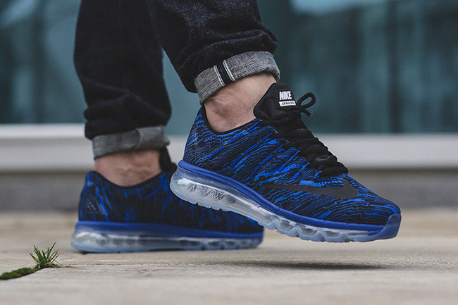 Nike Air Max 2016 Print Racer Blue