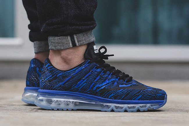 Nike Air Max 2016 Print Racer Blue | SneakerFiles