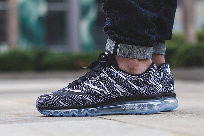 Nike Air Max 2016 Print Black White