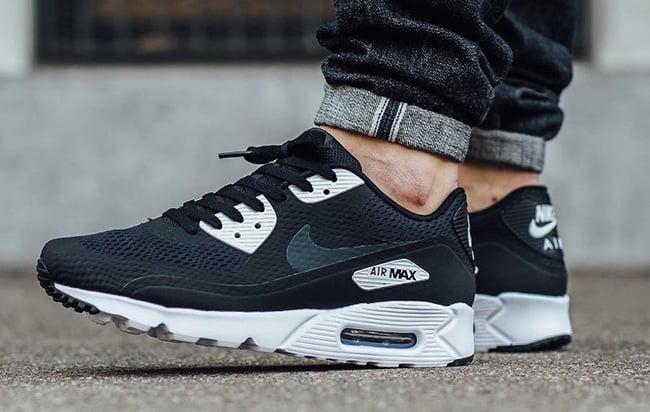 Nike Air Max 90 Ultra White And Black