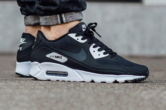 Nike Air Max 90 Ultra Essential Black White | SneakerFiles