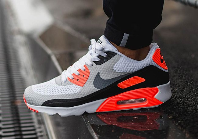 Air Max 90 Blanc Adidas Infrarouges Noir kimdDff1