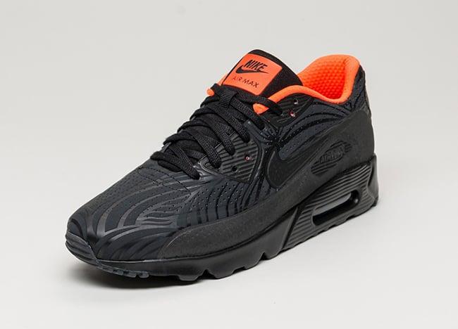 Nike Air Max 90 Ultra Moire FB Black Crimson | SneakerFiles