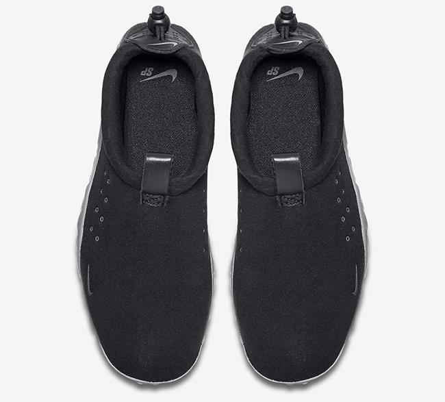 Nike Air Moc Tech Fleece Black Grey