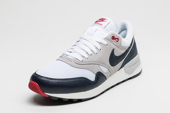Nike Air Odyssey White Obsidian Grey Red