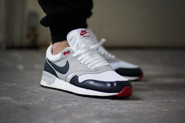 Nike Air Odyssey White Obsidian Grey Red  842fa45f187c