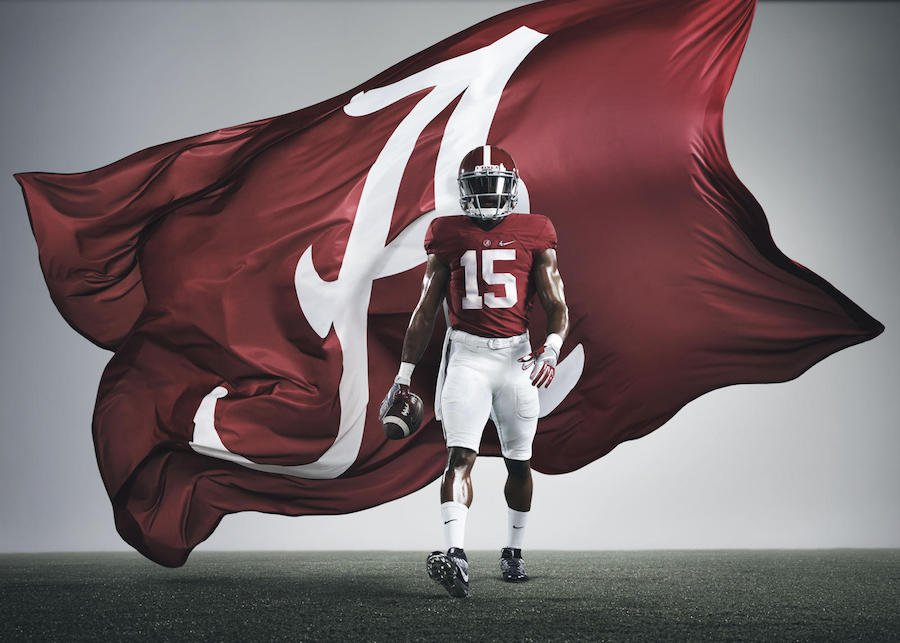 Nike Alabama Crimson Tide Playoff 2015 Uniforms