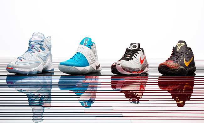 Nike Basketball 2015 Christmas Release