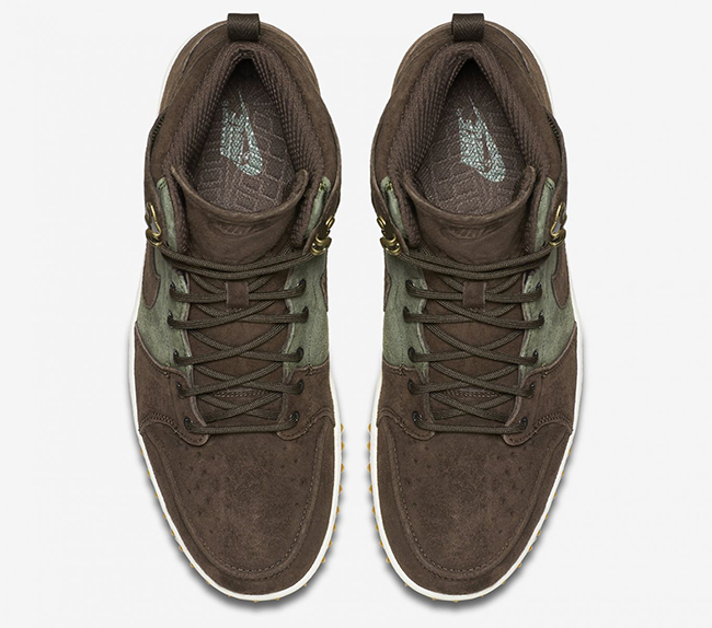 Nike Dunk CMFT Sneakerboot Brown Suede