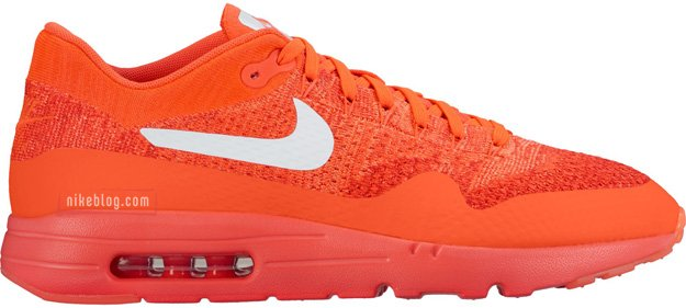 Nike Flyknit Air Max 1 Red