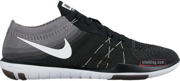 Nike Free TR Focus Flyknit Black White