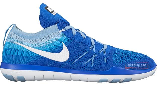 Nike Free TR Focus Flyknit Blue White