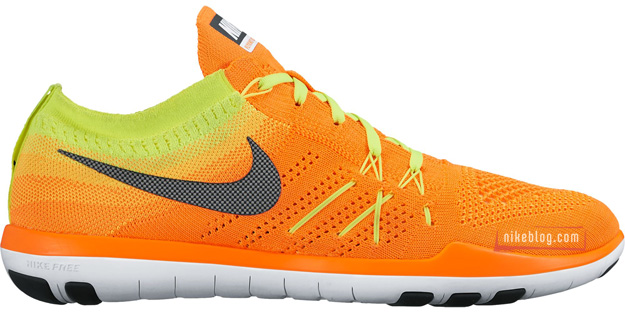 Nike Free TR Focus Flyknit Orange Volt