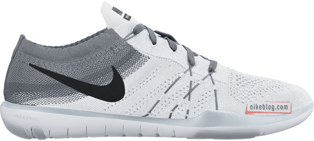 Nike Free TR Focus Flyknit White Grey