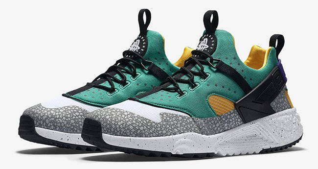 timeless design aad5b c64bf Nike Air Huarache Utility Safari Light Retro